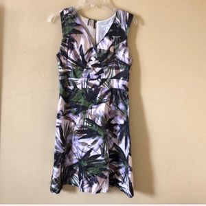 Banana Republic tropical print sundress